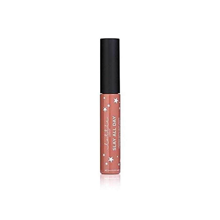 小道要旨パラメータLottie London Matte Liquid Lipstick - Fleek - - ロンドンマット液体口紅を [並行輸入品]
