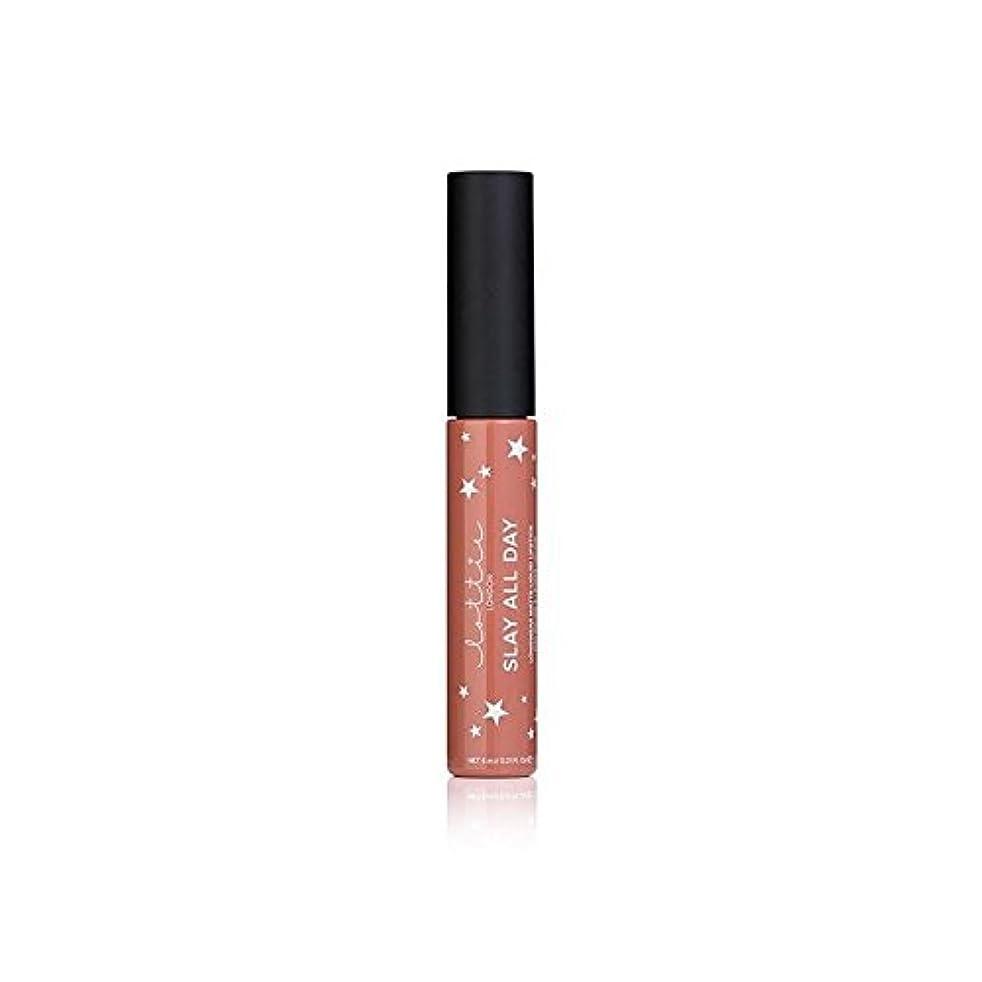 ほかにサンドイッチマンハッタン- ロンドンマット液体口紅を x2 - Lottie London Matte Liquid Lipstick - Fleek (Pack of 2) [並行輸入品]