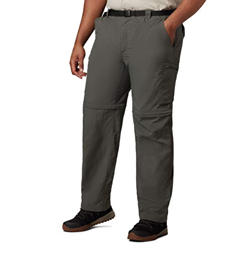 Silver Ridge Convertible Pant Uomo Columbia 34' 30' Gravel-339