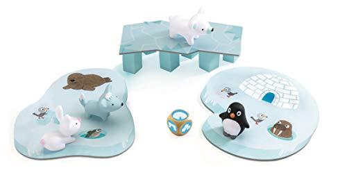 DJECO- Juegos de acción y reflejosJuegos educativosDJECOJuego Little Cooperation, Multicolor (15)