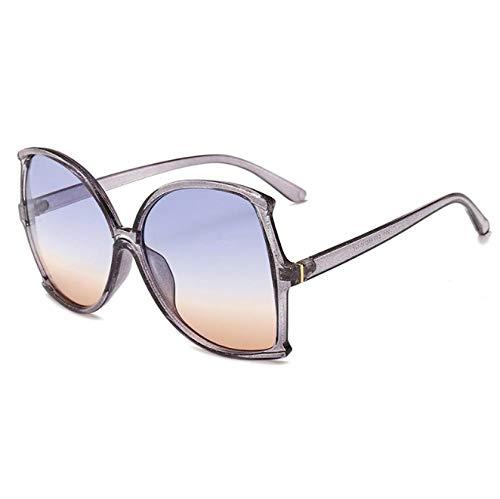 ZZZXX Gafas De Sol HombresCaja De Color De Tendencia De Moda Gafas De Sol Hd Antireflectantes Para Hombre Y Mujer,Con Caja De Regalo Y Paño Para Vasos