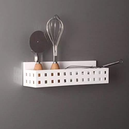 SHYPT Creativo imán de Nevera Caja de Almacenamiento magnética Colgante Guardar Espacio contenedor de Cocina Estante Herramienta Utensilios de Cocina Organizador Estante