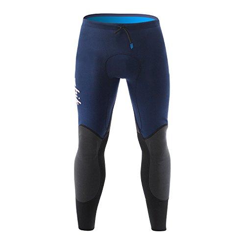 Zhik 2018 Microfleece V 1mm Neoprene Trousers Navy PNT0520 Wetsuit Sizes - Small