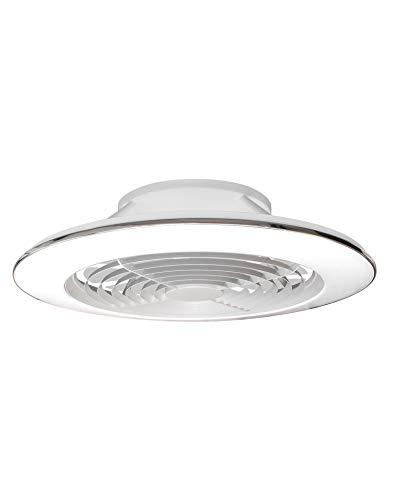 Plafón Ventilador LED ALISIO XL Ø73.5cm Mantra Iluminación Blanco con Mando y APP