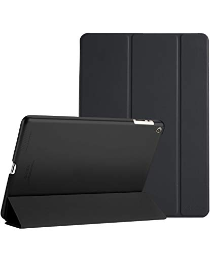 iPad 2 3 4 Case – ProCase Ultra Slim Lightweight Stand Case with Translucent Frosted Back Smart Cover for Apple iPad 2/iPad 3 /iPad 4 (Old Model) –Black