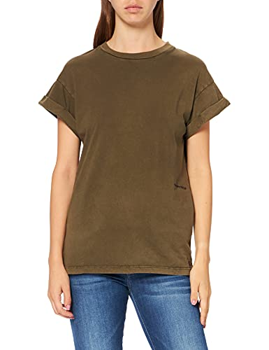 REPLAY W3588 .000.23178LG Camiseta, 677, M para Mujer