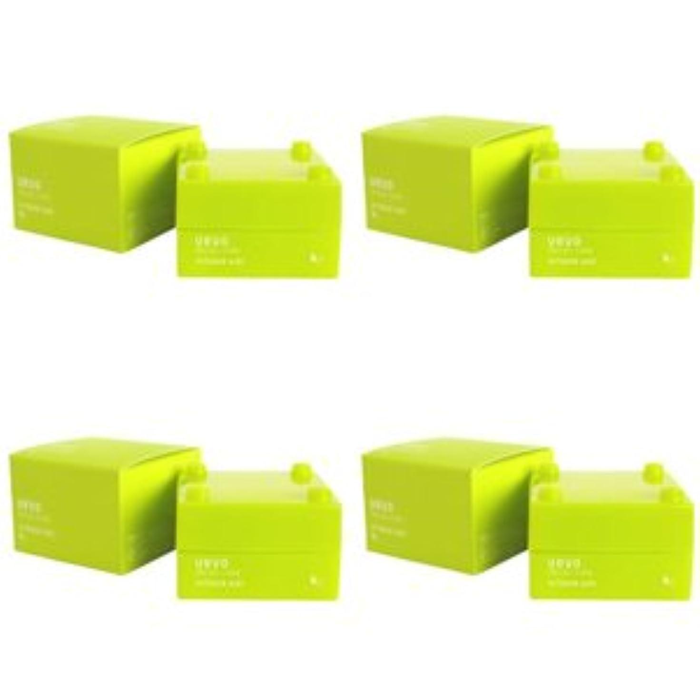 仕出します名声グラス【X4個セット】 デミ ウェーボ デザインキューブ エアルーズワックス 30g airloose wax DEMI uevo design cube