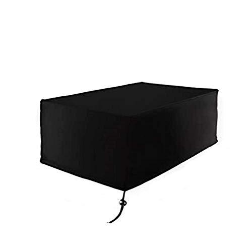 RICHELE Copertura Protettive per Mobili da Giardino 420D Oxford Poliestere Rettangolare Copertura per Tavolo e Sedie da Esterni (170x94x70cm)