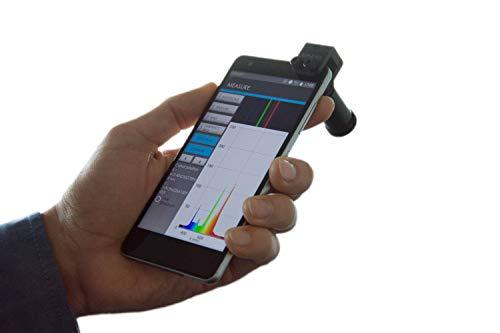 GoSpectro - espectrómetro de luz base para smartphone