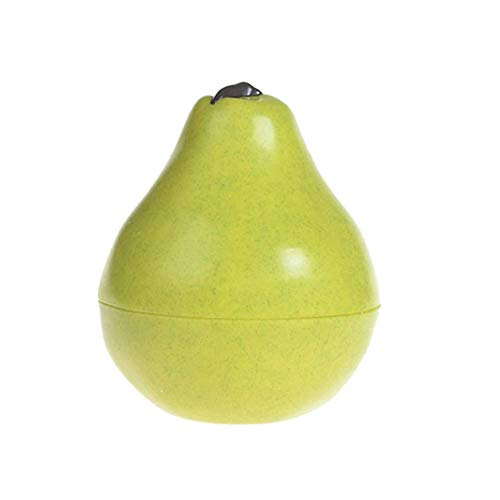 Reisen Kosmetik-flaschen-frucht-form-creme Box Portable Kosmetisches Glas Make Up Empty Bottle Reise-zubehör (schnee Birne)