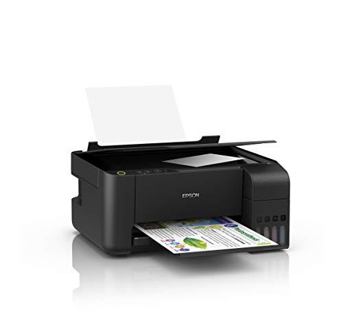 Epson EcoTank L-3110 - Impresora Multifunción A4, Copia/Escaneado/Impresión, Conexión con Cable USB