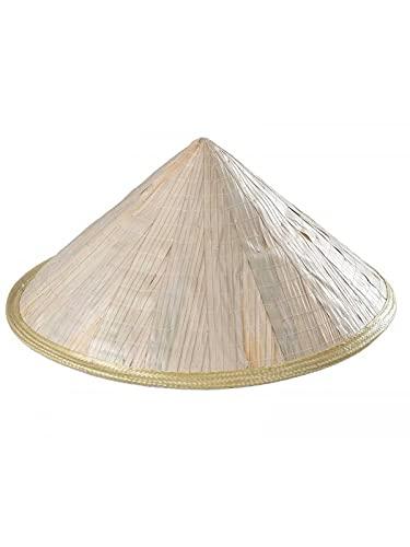 DISBACANAL Sombrero Chino Paja