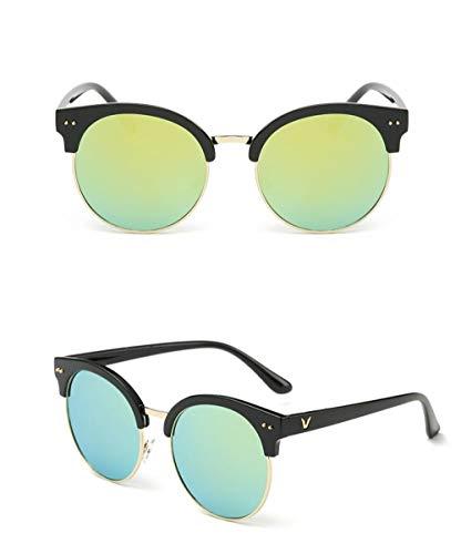 HPPSLT Polarisierte Sonnenbrille Outdoor Sportarten Fahren für, Damen Sonnenbrille schillernde Farbfilm Sonnenbrille-2