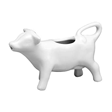 Hic Nt-1033 Mini Cow Creamer Porcelain, 2 Oz.