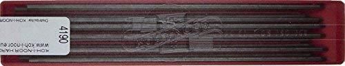 KOH-I-NOOR 4190 - 24 Fallminen - Minenstärke: 2 mm, Härtegrad: HB (2x12 Stück)