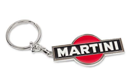 Martini Brand Keychain Known for Vermouth Gin & Other Spirits and Sponsor of Racing Team