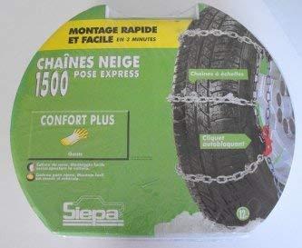 BeTech SIEPA N°2 Chaine Neige Pose Rapide pour Pneu 12\