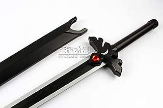 S0483 Anime SAO Sword Art Online Kirito ALICIZATION Black Night Sky Blade 43.5