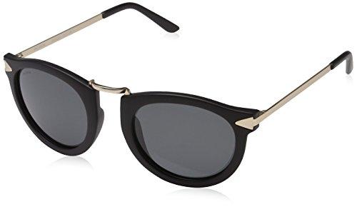 Pilgrim Damen Sunglasses: Kinsley_PI: Gold Plated: Black Sonnenbrille, 50