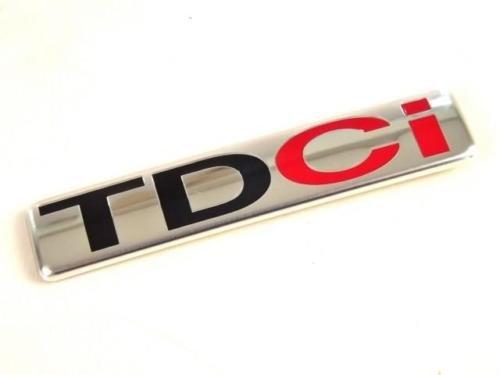 TDCi Kofferraum Chromabzeichen