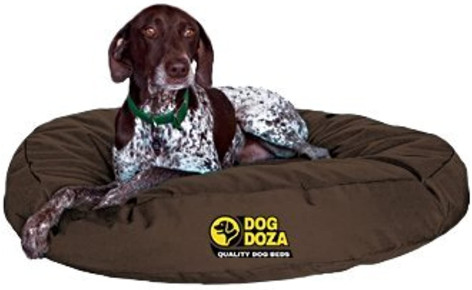 Dog Doza Durable Waterproof Round Beds for Small to Medium Dogs