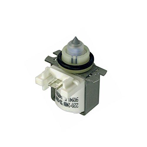 Magnetventil Einlaufventil Füllventil Ventil für Salzbehälter Original Spülmaschine Gewerbe Dampfstrahler Desinfektionsgeräte Miele 5918860 für Brillant Classic Royal G300 G500 G600 G700 G800 G900