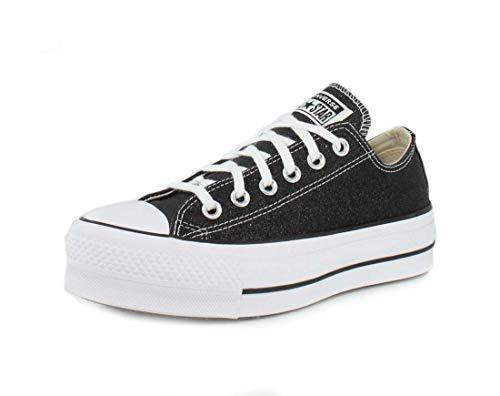 Converse CTAS Lift Ox Cherry Blossom/White/Black, Zapatillas para Mujer