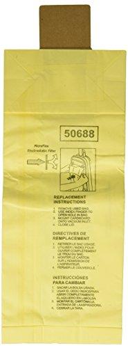 3 Kenmore Sears 50688/50690 U Vacuum Bags, Upright, Canister, Panasonic U-2, Miele Z, Sanyo PU-1 Vacuum Cleaners, MC-117PF, MC-E400, S170i, S170 - S179, S185, S300, SC-A or SC-U