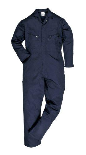 Portwest C813NATXXXL Overall aus Baumwollmischgewebe, Größe XXXL, lange Beinlänge, Navy