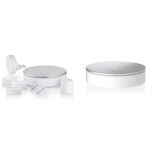 Somfy, Home Alarm, Pack alarma, gris plateado- Sirena Interior Blanco
