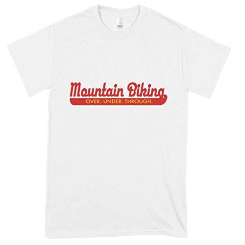 Mountain Bike Classic Guys Unisex Tee Best Women Shirt - Men Fashion Old Fashioned Teen Girl Graphic