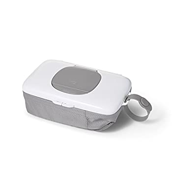 OXO Tot On-The-Go Wipes Dispenser with Diaper Pouch Gray