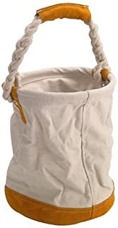 Western Safety Round Canvas Bag