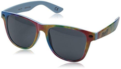 Neff QNF0302 Gafas de sol, Tie Dye Sky, 55 Unisex