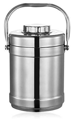 Termo DE Acero, Platos Calientes, Comidas para BEBÉS, Dos CONTENEDORES Interiores (2.0 litros)