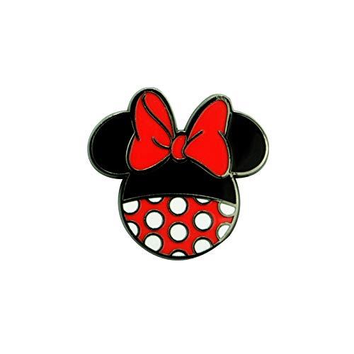 Micky Maus Minnie Dress Frauen Pin multicolor Metall Disney, Fan-Merch, Filme, TV-Serien