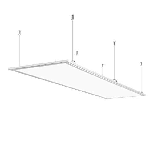 Anten 40W Dalle LED Panneau Luminaire LED 30×120CM Plafonnier Dalle Lumineuse Blanc Haute Luminosité Blanc froid 6000K