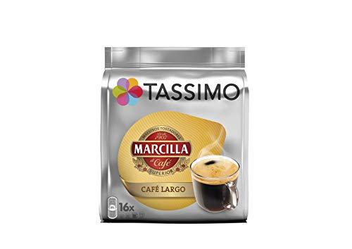 Tassimo Cafe Marcilla Largo - 16 Capsulas