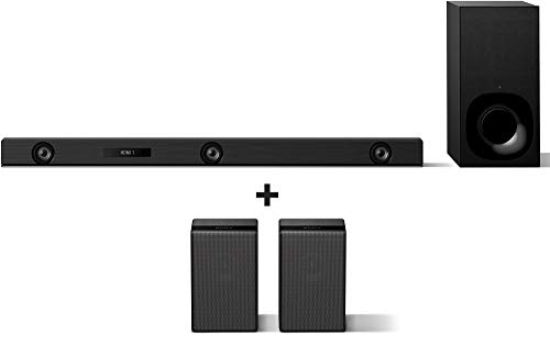 Sony Sound Bar with Rear Speakers: HT-Z9F 3.1ch Dolby Atmos / DTS:X TV Soundbar Speaker System with...