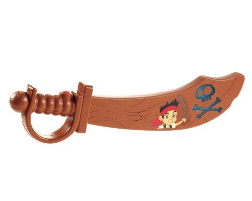 Mattel Fisher-Price X9092 - Jake und die Nimmerland Piraten Sprechendes magisches Schwert