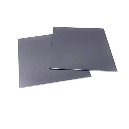 TINGCHAO Vanadio Hoja De Alta Pureza Vanadio 100x100mm Franja De Vanadio De Metal para Investigación Científica Elemento Puro Muestra Elemento Periódico Azulejo,0.1x100x100mm