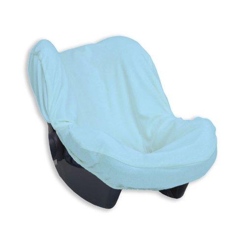 Bolin Bolon Housse de protection universelle pour siège auto groupe 0 En éponge 100 % coton - Bleu - 75x55 cm