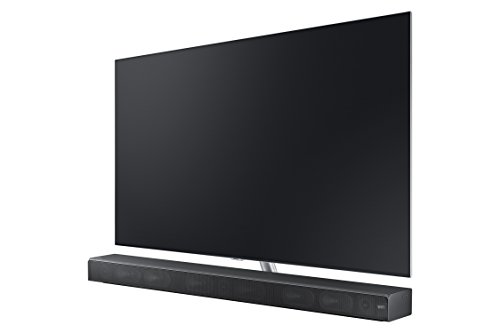 Samsung 3.0 Sound+ Premium Soundbar HW-MS650/ZA with Built-In Subwoofer, Works with Alexa, Wide-Range Tweeter, 4K Pass-Through with HDR, Multiroom Compatible, Bluetooth Compatible, 450-Watts, Black