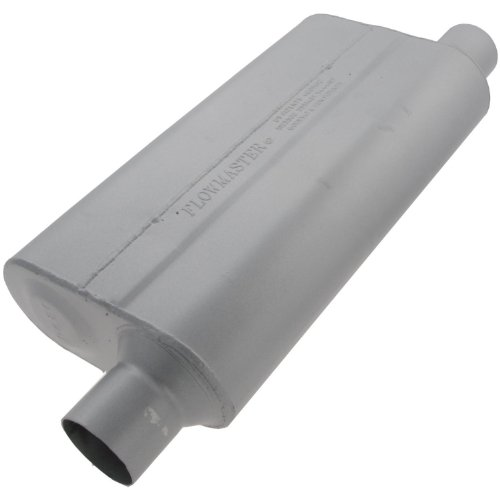 Flowmaster 842553 50 Delta Muffler 409S 2.50 Offset IN 2.50 Offset OUT Moderate Sound