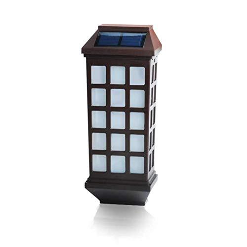 Solar Wall Lights – draadloze, waterdichte verlichte wandlampen voor hekken, terrassen, muren, trappen, landschaps-, binnen- en oprijpaden – warmwit