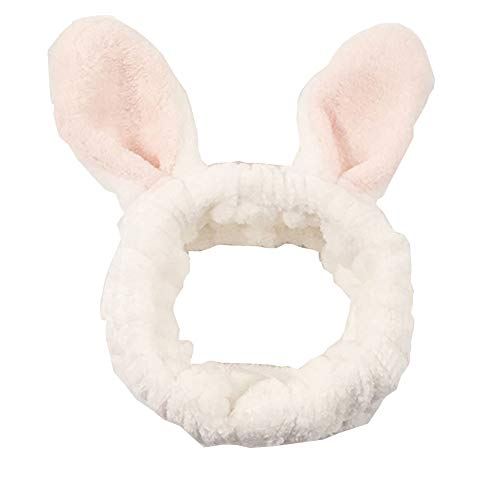 Accessoires de cheveux pour le lavage du visage, Douche, Maquillage, Spa Fashion Cute Ear Headband #18