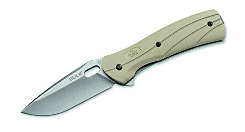 Buck Einhandmesser Einhandmesser Vantage Force Select, Stahl 420HC, Liner Lock, Glasfaser-/Nylonschalen, Edelstahl-Clip, 281311