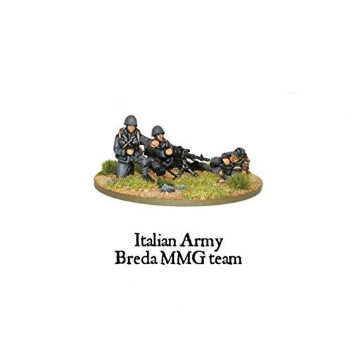 Italien équipe de l'Armée Breda MMG