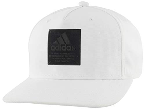 adidas Herren Cap Core Affiliate High Crown Structured Snapback Cap, Herren, Mütze, Affiliate High Crown Structured Snapback Cap, weiß, Einheitsgröße