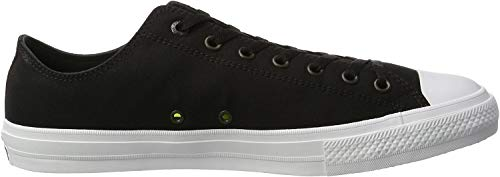 Converse Unisex-Erwachsene Chuck Taylor All Star II OX Low-Top, Schwarz (Black/White/Navy), 36 EU